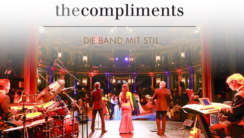 The Compliments - die Band mit Stil.