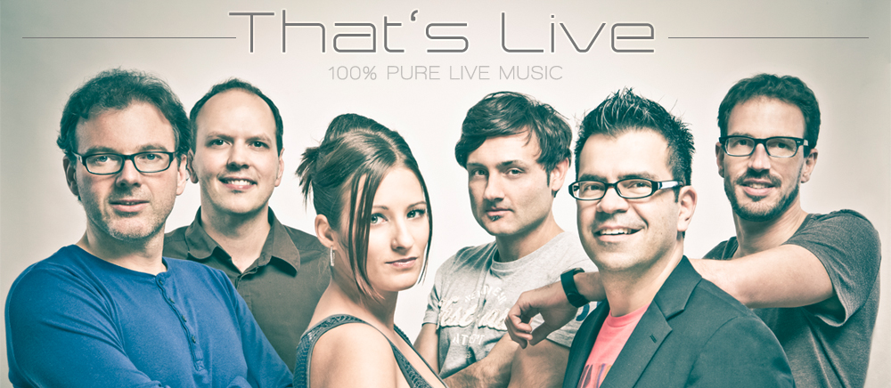 That's Live - pure live music